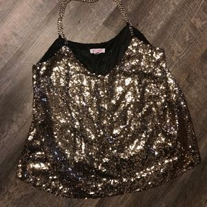 A'GACI sequin top